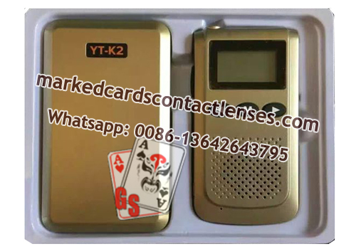 YT-K2 poker analyzer interphone